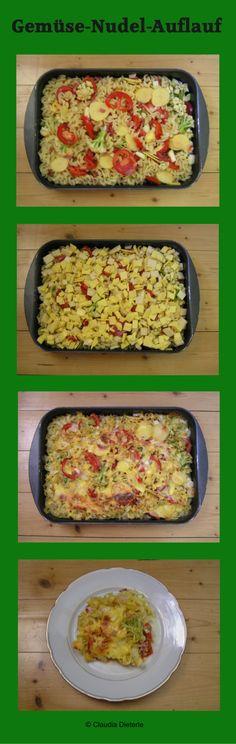 Gemüse-Nudel-Auflauf