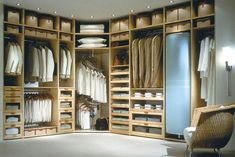 Concepts in wardrobe design. Storage ideas, hardware for wardrobes, sliding wardrobe doors, modern wardrobes, traditional armoires and walk-in wardrobes. Closet design and dressing room ideas. Bedroom Closet Design, Master Bedroom Closet, Wardrobe Design, Closet Designs, Diy Bedroom, Bedroom Wall, Best Closet Organization, Closet Storage, Walking Closet Ideas