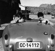 vintage everyday: Before Beatlemania: Rare Photographs of The Beatles on Holiday in Tenerife Before They Became World Famous
