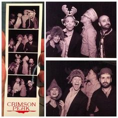 Crimson Peak wrap party How I wish I could've been there.