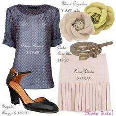 Copie o look - Get the look (Stéphanie Zwicky)