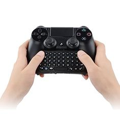 Wireless MINI Keyboard for Playstation 4 PS4 Play Station PS BK HS