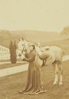 1866 : Princess Louise at Balmoral
