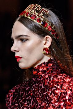 Dolce & Gabbana Fall Winter 2018 -Detail