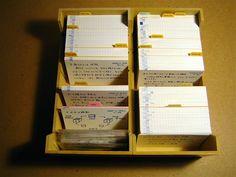 School Organization Notes, Study Organization, School Notes, Organizing Ideas, Study Flashcards, Study Cards, School Study Tips, Card Organizer, Index Cards