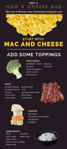 Host A Mac And Cheese Bar