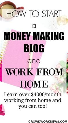 I started blogging 9 months ago and now I am making over $4000 per month working from home. Blogging is the best way to work from home and earn a great income. Click through to an easy step by step tutorial for starting your money making blog. No technical expertise needed!!