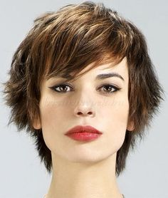 rövid frizurák - rövid női frizura