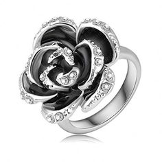 Stainless+Steel+Rings,+Women's+Bands+Black+Rose+Platinum+Plated+Austrian+Crystal+Egagest+Epinki,+http://www.amazon.com/dp/B014HNBVI0/ref=cm_sw_r_pi_awdm_Eb9pwb02FWY4J