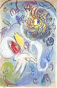 The Creation of Man - Marc Chagall