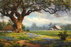 """Clinton Broyles, """"Verdant Fields"""" - Southwest Gallery: Not Just Southwest Art. Watercolor Landscape, Landscape Art, Landscape Paintings, Nature Pictures, Art Pictures, Fine Art Photography, Nature Photography, List Of Artists, Southwest Art"""