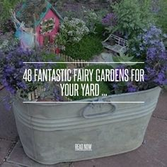 48. Arch - 48 Fantastic Fairy Gardens for Your Yard ... → Gardening