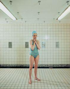 Self-portrait of Rineke Dijkstra / Courtesy the artist and Marian Goodman Gallery, New York and Paris © Rineke Dijkstra