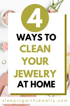 I found 4 incredibly easy ways to clean your jewelry at home! Keep Jewelry, Silver Jewelry, Silver Ring, Women's Jewelry, Jewelry Trends, Pearl Jewelry, 925 Silver, Vintage Jewelry, Jewellery