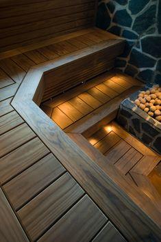 Sauna Steam Room, Sauna Room, Mobile Sauna, Building A Sauna, Sauna House, Sauna Design, Simple House Design, Luxury Pools, My House