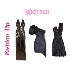 #FashionTip: Metallics and sequins are the new chic!!Shop the most stunning sequin and metallic dresses and gowns of this season only at #Kitsch!