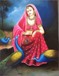 Rajasthani Lady Art