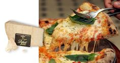 """The best pizza ever! Try """"Pizza Margherita"""" with some slice of Parmesan Cheese"""