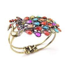 Peacock Shape Colored Bracelets 6.75$ (Rs 850) - Sri Lanka E Shopping