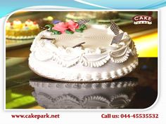 Places where you can find Vanilla cakes in Chennai. Order your choice through online or else directly go with cake shop. Variety of cakes available here: www.cakepark.net Call us: 044-45535532