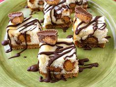 peanut butter cheesecake bars!