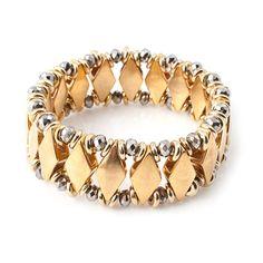 Estella Bracelet - Silver - Bracelets | Vanessa Mooney Jewelry