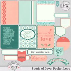 FREE Freebie Friday - Seeds of Love : Pocket Love By MHT Designs
