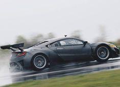 Аs always cool Acura NSX GT3 Racecar