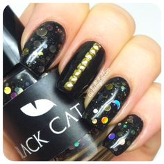 Black Cat Lacquer Midnight City