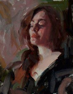 академическая живопись. портрет. масло.