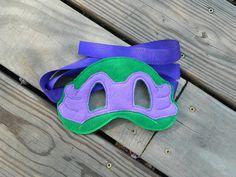 Teenage Mutant Ninja Turtle Felt Mask