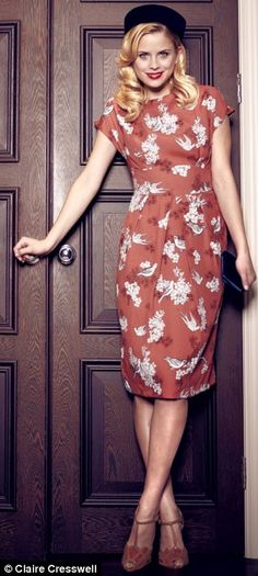 8c8018509ec A touch of Forties flair  Get the vintage look with tea dresses