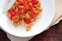 31 healthy 15min meals  ->spanish chicken with white bean mash