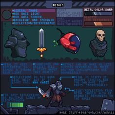 Pixel art tutorials Here are all the pixel art tutorials made by Pedro :D More info on his Patreon page! Article Saving and Exporting Pixel Art Article Working with Lines Jumping Article. Animation Reference, Art Reference, Art Bullet, How To Pixel Art, Pix Art, Pixel Animation, Pixel Design, Pixel Art Games, Animation Tutorial