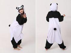 Panda-costumes pajama-sale.com