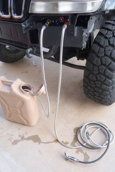 DIY hot water shower for your 4X4. OBHS - On Board Hot Shower. Descriptiona nd more photos on the Offroad Passport Community Forum.