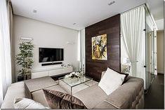 Veja 3 apartamentos pequenos com ambientes integrados (Sala, cozinha, quarto-tudo quase junto!