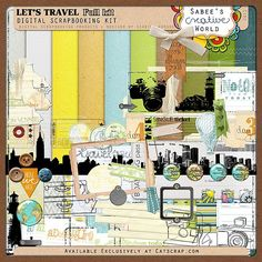 Let's Travel kit by Sabee's Creative World at Catscrap