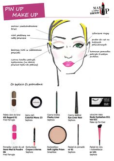 Pin up make up @Hidden Candy loves it!