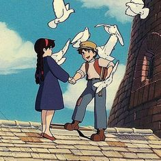 Studio ghibli castle in the sky hayao miyazaki Studio Ghibli Art, Studio Ghibli Movies, Hayao Miyazaki, Castle In The Sky, 6 Photos, Pictures, Sky Aesthetic, Animation, Film Serie