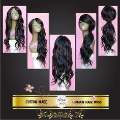 Extra Long Brazilian Human Hair Wig