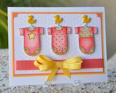 Baby Tees by ardodd - Cards and Paper Crafts at Splitcoaststampers
