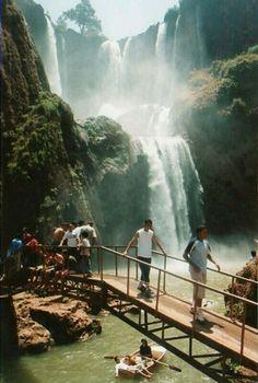 Waterfalls of Ouzoud, Morocco