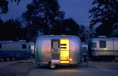 Airstream, Bambi, Christopher Deam, Prefab Friday, Designer Mobile Homes, Chic Mobile Home, Green Mobile Home
