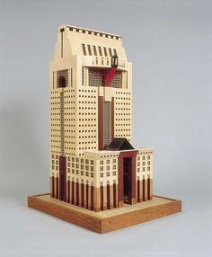Michael Graves | Humana Building | Louisville; Estados Unidos | 1982-1985 |  Collection - frac centre