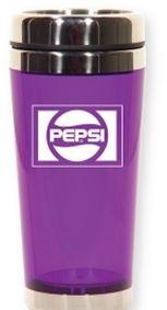 Best of both worlds ...Translucent Purple Pepsi Travel Tumbler