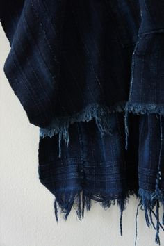One of my first loves was the deep tone of indigo. It has never let me astray over the many years. Azul Indigo, Mood Indigo, Indigo Dye, Indigo Colour, Love Blue, Blue And White, Dark Blue, Le Grand Bleu, A Well Traveled Woman