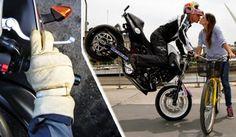 Teknik Mengerem Sepeda Motor Yang Benar dan Aman serta pakem