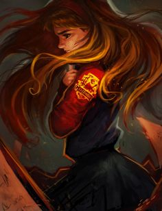 Support me on Patreon Tumblr Artstation Instagram Facebook Painted Hermione last month after rewatching some of HP movies Didn't want to draw just the actress,... More