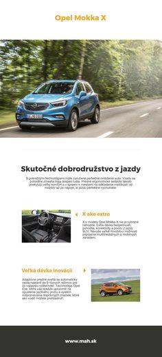 Opel Mokka X - predajca áut Opel MaH s. Bugatti, Crossover, Opel Mokka, Audio Crossover